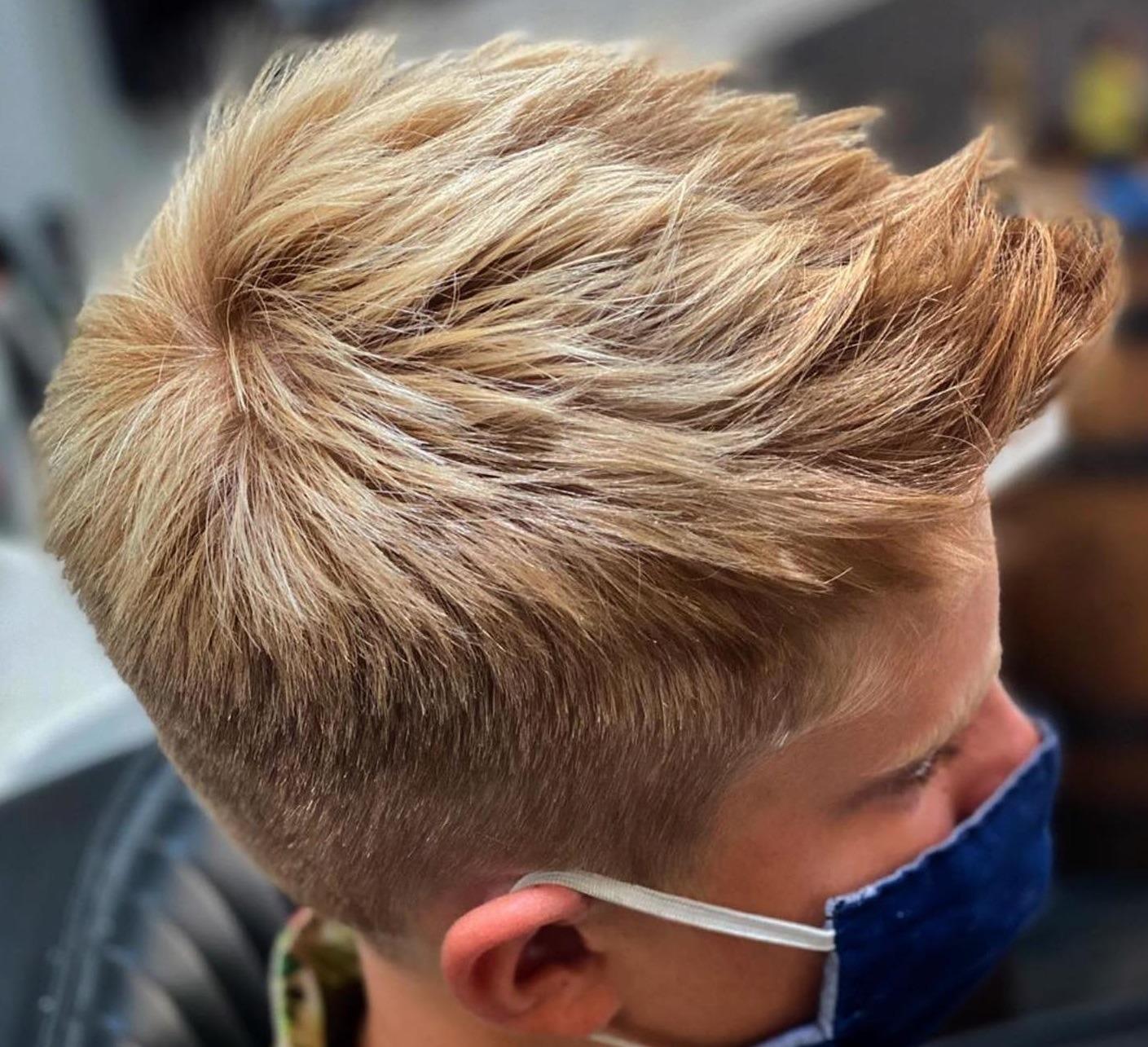 Santabarba Messi Haircut - Taglio di capelli spettinato