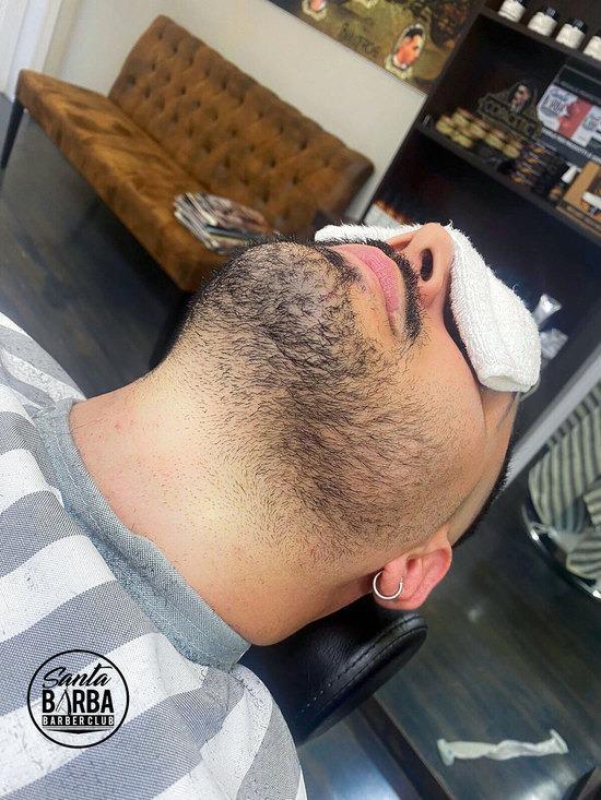 Santabarba zero problemi - La barba sfumata secondo santabarba barber shop